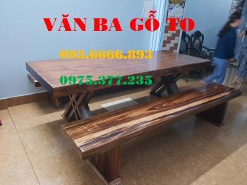Bàn ăn gỗ tự nhiên BA026