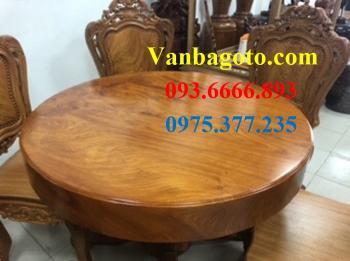 Bàn tròn gỗ_BTGC001