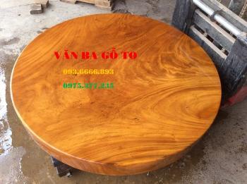 Bàn tròn gỗ_BTGD002