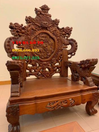 Bàn ghế gỗ nghê đỉnh _ BGG001