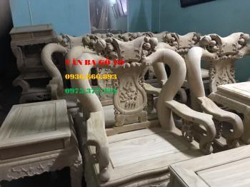 Bàn ghế gỗ minh đào gõ đỏ tay 12