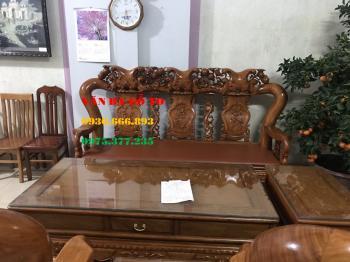 Bàn ghế gỗ| Minh đào tay 12 cm gõ đỏ