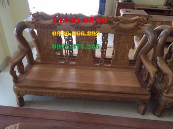 Bàn ghế gỗ| Quốc triện cột 10 cm