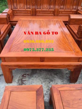 Bàn ghế gỗ| Bàn ghế Âu Á 10 món