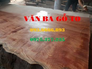 Bàn ăn  Mặt bàn gỗ lát nu_MBA106