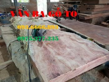 Bàn ăn|Mặt bàn gỗ cẩm đá_MBA409
