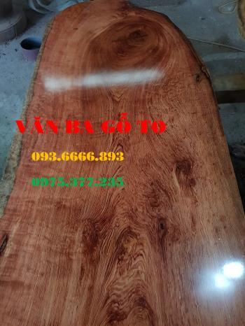 Bàn ăn| Mặt bàn ăn gỗ cẩm đá_MBA411