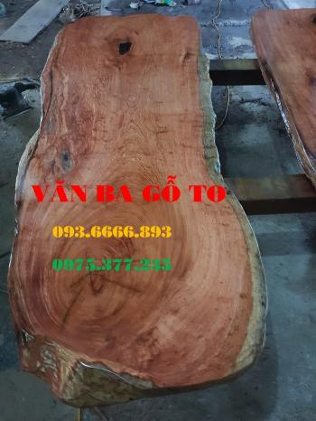 Bàn ăn|Mặt Bàn ăn gỗ cẩm đá_MBA412