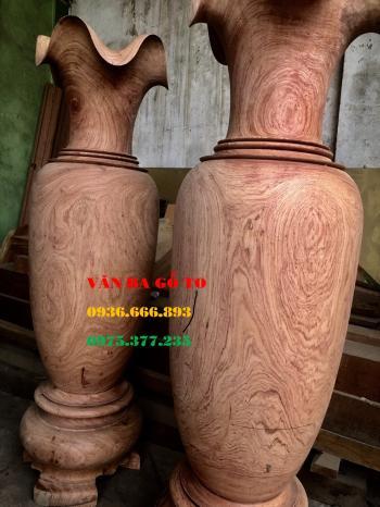 Lục bình gỗ hương đá_LB100