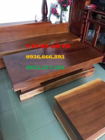 Sofa gỗ tại Điện Biên