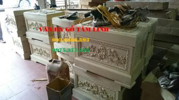 Quách hỏa táng gỗ Vàng Tâm tại Quảng Nam