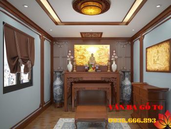 Bàn thờ hiện đại tại Quảng Nam