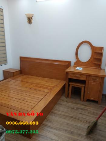 Giường gỗ nguyên khối tại Bà Rịa Vũng Tàu