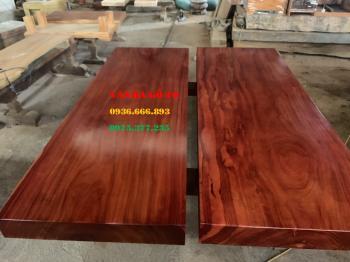 Sập gỗ hương tại Sơn La