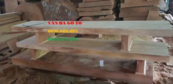 Kệ tivi gỗ nguyên khối