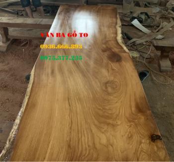 Mặt bàn gỗ nguyên tấm tại Hà Nam
