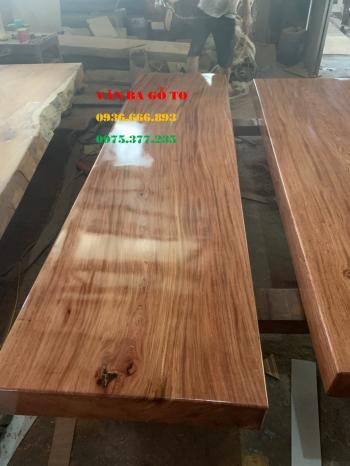 Mặt bàn gỗ nguyên khối tại Hà Nội