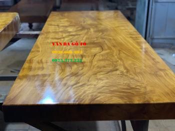 Mặt bàn gỗ nguyên tấm tại Sài Gòn