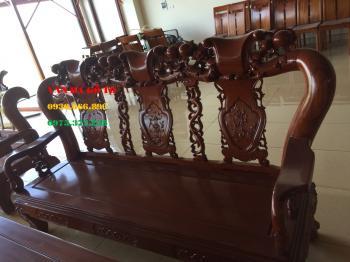 Bàn ghế gỗ - Bộ Minh Đào gõ đỏ