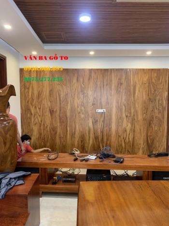 Vách dán tường gỗ tự nhiên