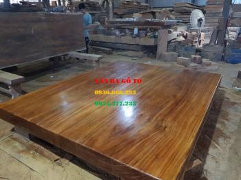 Phản gỗ nguyên khối tại Quảng Binh