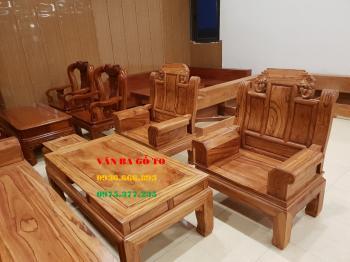 Bàn ghế gỗ vân đẹp