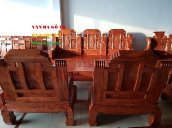 Bàn ghế gỗ Voi đặc