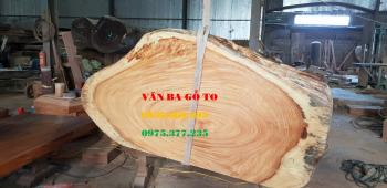Mặt bàn gỗ tự nhiên nguyên khối