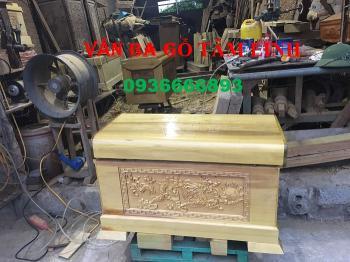 ✅✅ Quách gỗ vàng tâm được sản xuất như nào tại xưởng VĂN BA GỖ TO