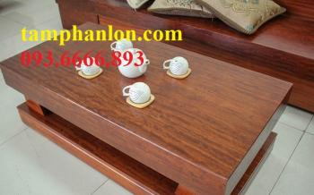 Sofa gỗ| Sofa gỗ cẩm nguyên khối - SGC001